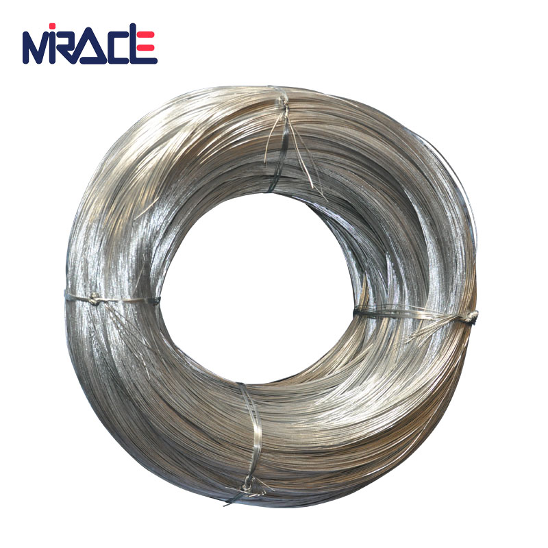 2018 Different gauge binding wire electro zinc coating GI wire or hot dip galvanized iron wire