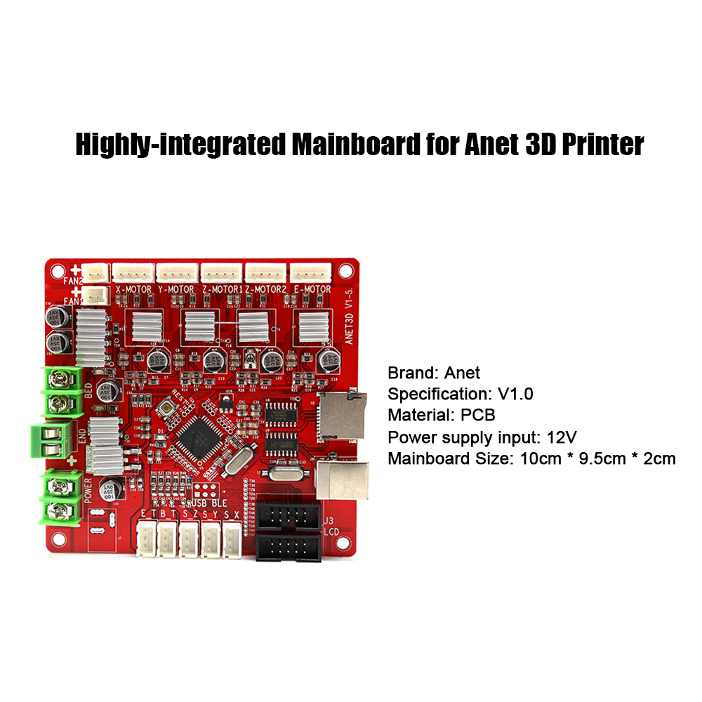 V1.5 Original A8 Motherboard Replacement for Anet A8 3D Pr... Anet A8 Mainboard