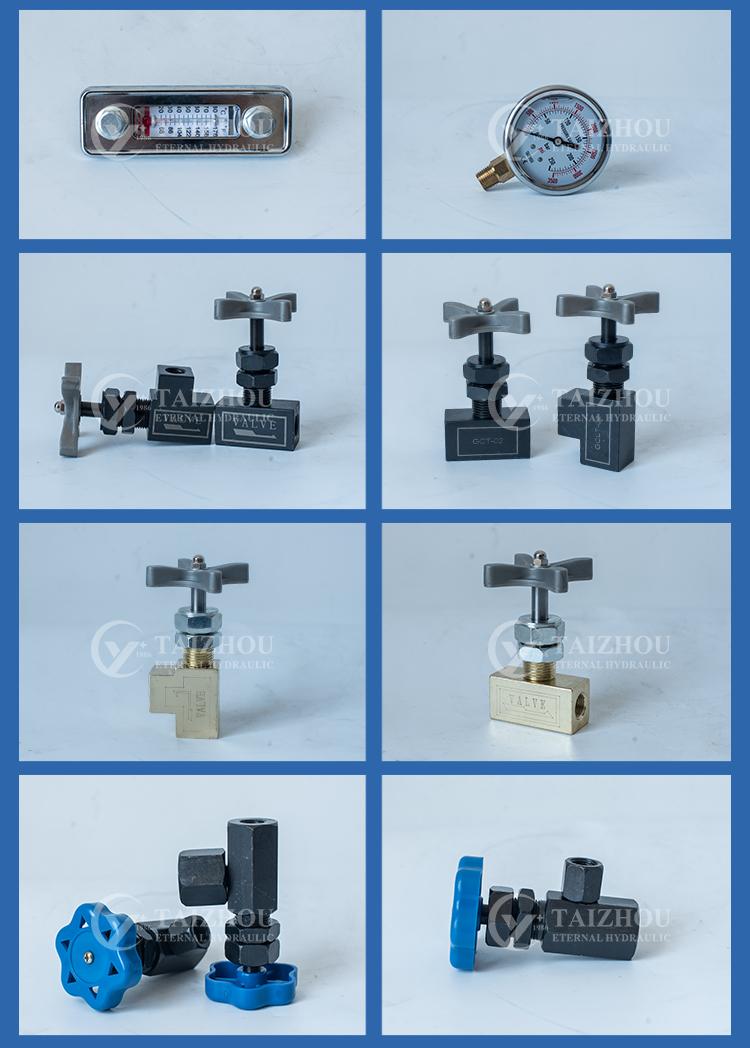 Fabriqué En Chine Tout En Acier Inoxydable Hydraulique Manomètre Numérique, Compteur de Pression Différentielle Jauges
