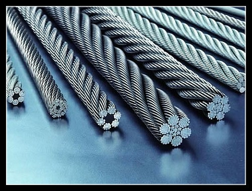 8*26WS steel wire rope, steel cable factory
