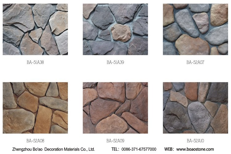 China Supplier Artificial Stone Veneer Made By Rubber Molds