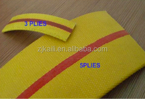 28OZ 32OZ fabric cotton yellow red orange black rubber flat transmission belt