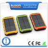 Travel charger rechargeable li-po battery charger power bank solar charger