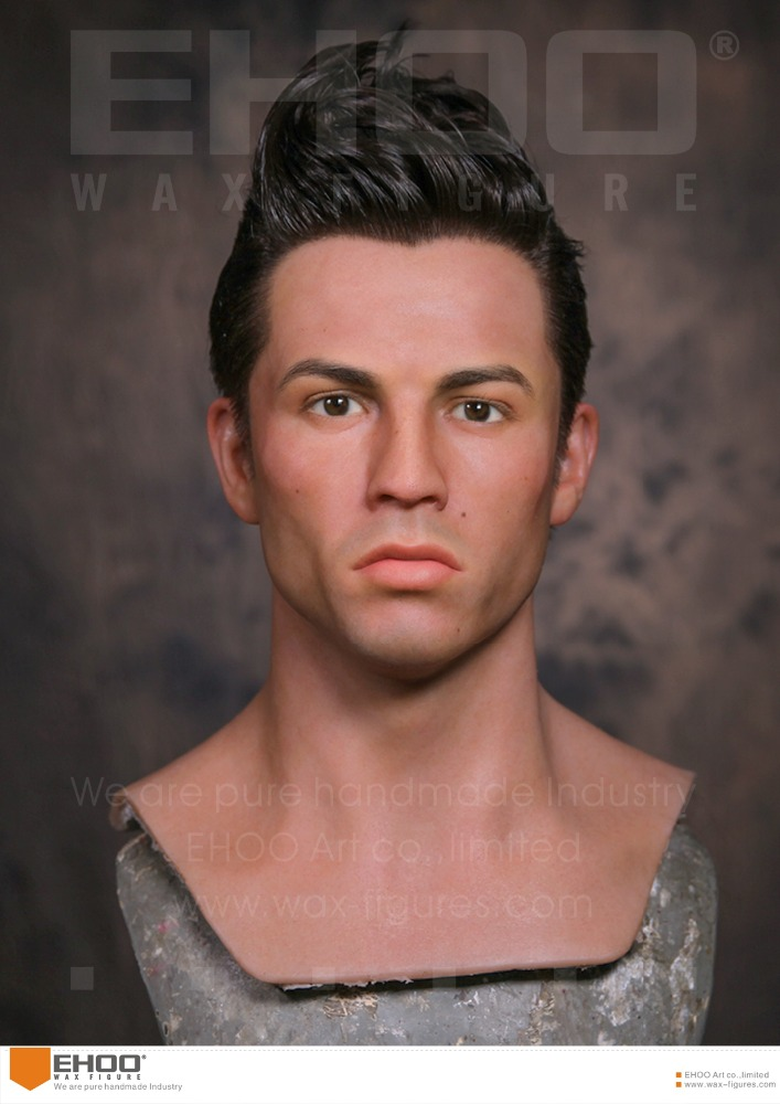 Wax Figure Celebrity Waxworks of Cristiano Ronaldo
