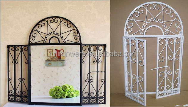 Simple House Window Decor Modern Wrought Iron Window Grill