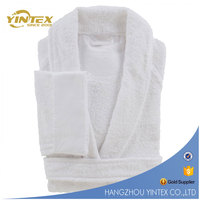 5 star hilton hotel High quality color 100% cotton towel & bathrobe