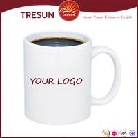 Small order customize promotional ceramic porcelain mug/ceramic personalized stoneware restaurant coffee mug