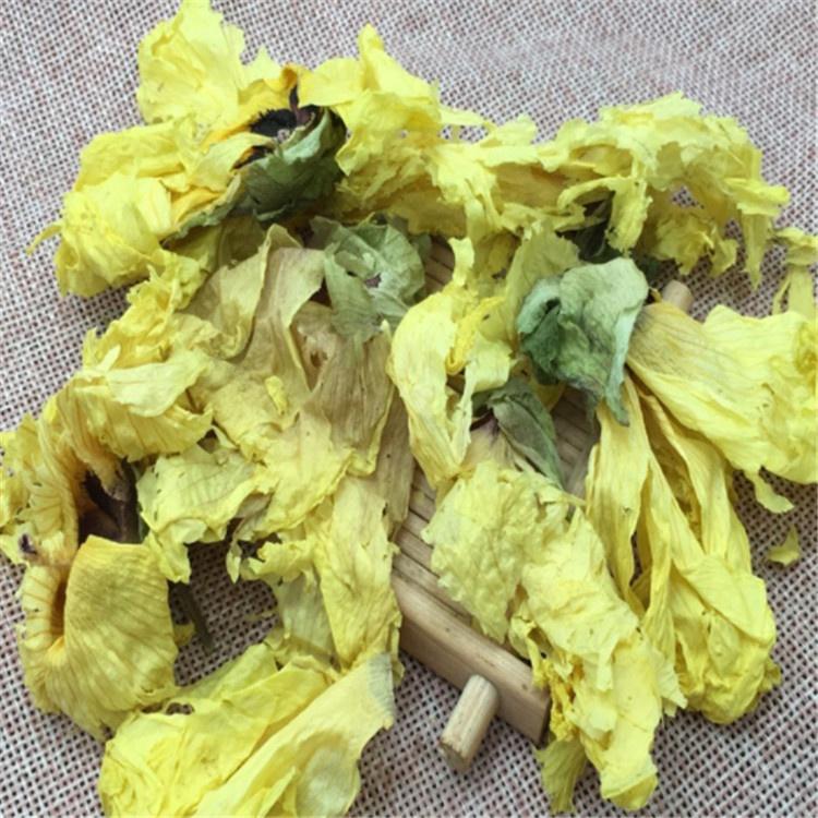 Natural Dried Okra flower /Abelmoschus esculentus flower/Hibiscus esculentus flower on sales - 4uTea | 4uTea.com