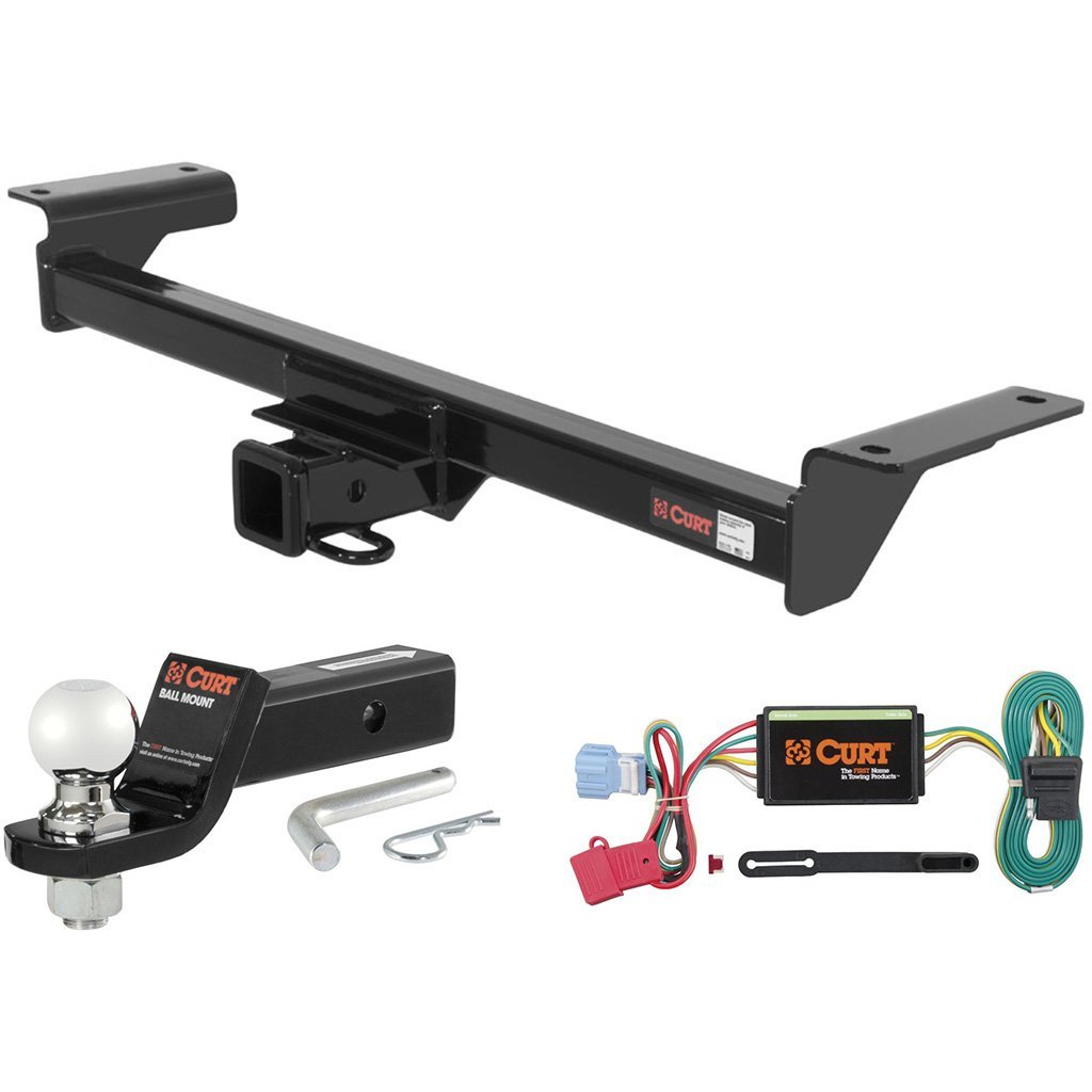 "CURT Class 3 Trailer Hitch Tow Package with 2-5/16"" Ball for 2007-2009 Acura RDX"