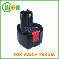 Replacement for bosch 9.6v power tool battery for bosch psr 960 power tool battery 2 607 335 451