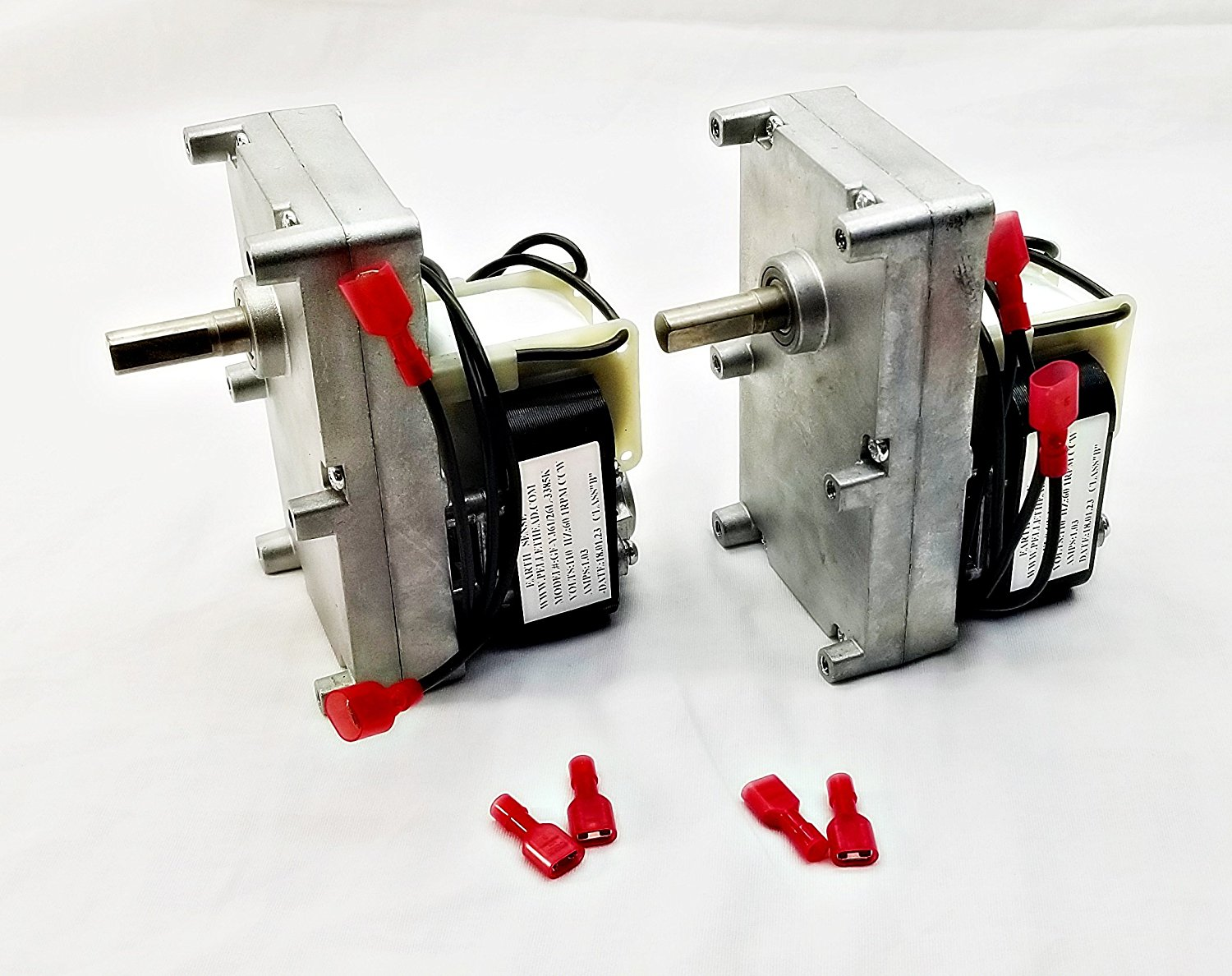 2 Pack - Englander 1RPM Pellet Stove Auger Motor PU-047040 PH-CCW1- Top and Bottom Auger Motor