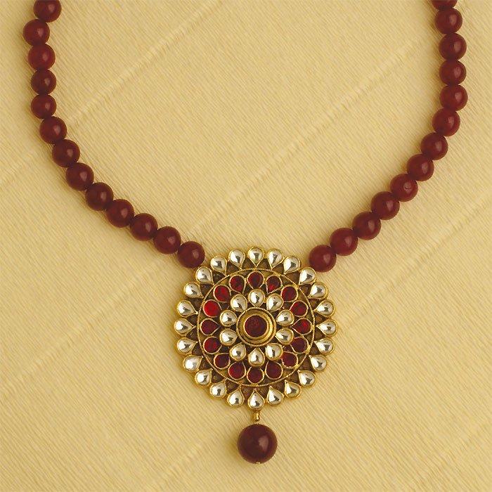 Kundan Jewellery Necklace - Buy Necklace Product on Alibaba.com