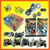 Plastic Candy Toy DIY Assembled Motor Toy Candy