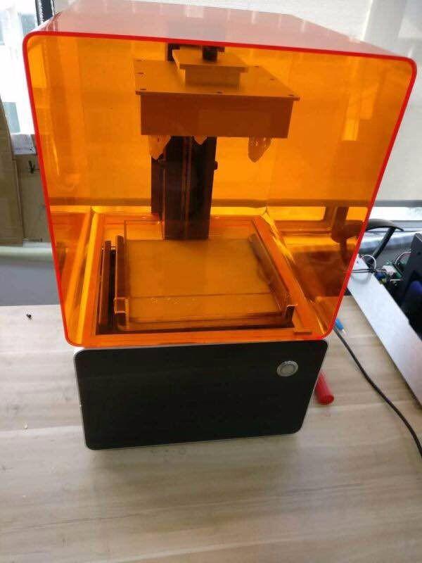 Sla Form 1 3d Printer Laser 3d Printer Sla 3d Printer Resin Curved ...