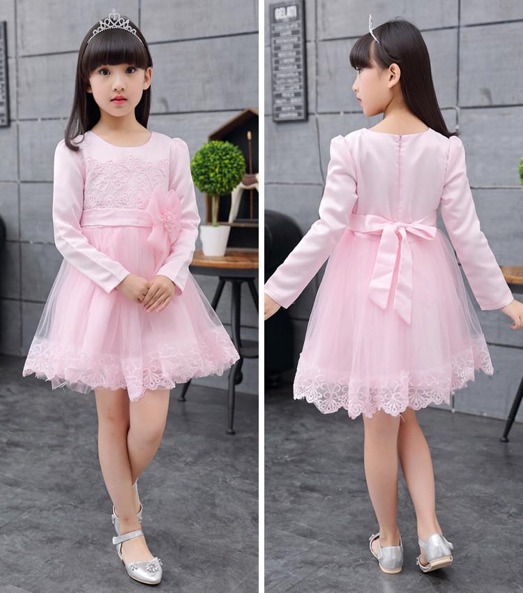 El nuevo modelo verano niños princesa Ángel customed encaje vestido ...