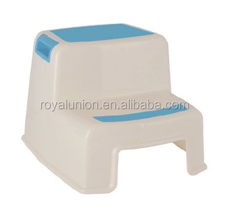 plastic children step stool with the nonslip point