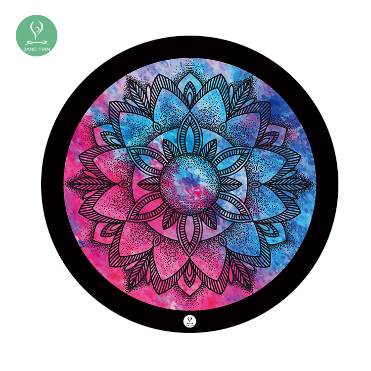 yoga boho round towels mat jaipur cotton towel indian handloom mandala cloth elephant products throw diameter beach tapestry table