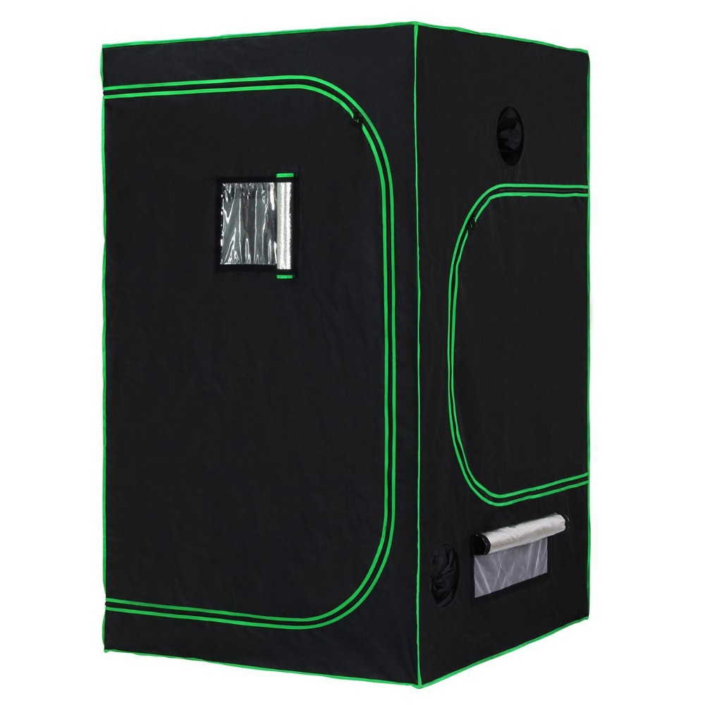 Pianta idroponici Indoor Mini 1 PC Stealth Metallo Growbox Crescere Tenda Crescere Box Tenda 120x120x200 centimetri