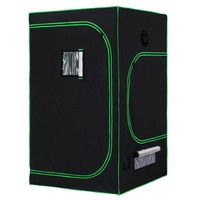 Hydroponic Indoor Mini 1 Plant PC Stealth Metal Growbox Grow Tent Grow Box Tent 120 x120 x 200 cm