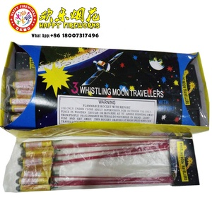 0445D 3 Whistling Moon Travellers Small Pack Sky Rocket Fireworks