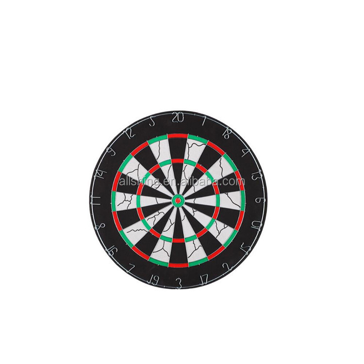 Wholesale 18-inch Champion Tournament Bristle Dartboard, Double-Sided Flocking Dart Board