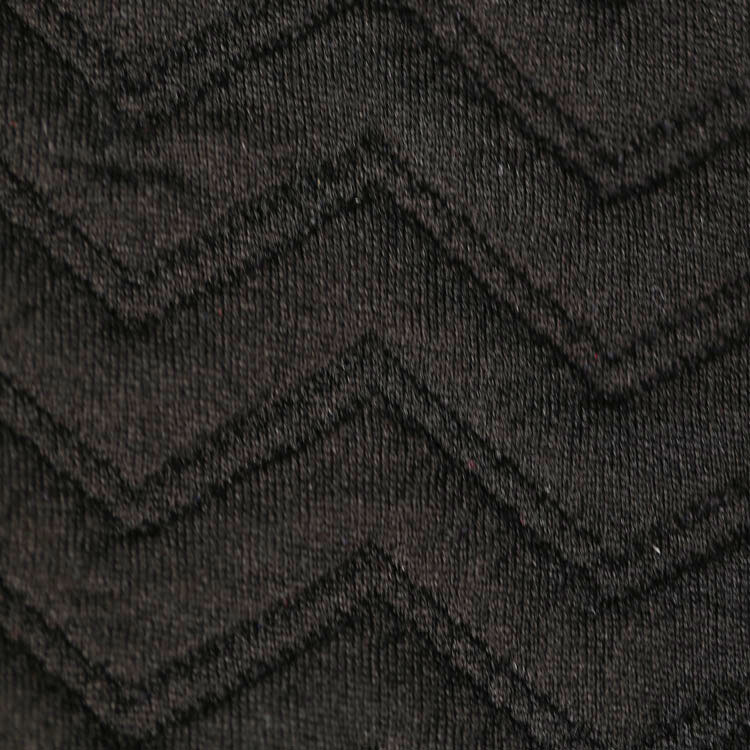 New Design Upholstery Jacquard Thick Polyester Stretch Knit Fabric