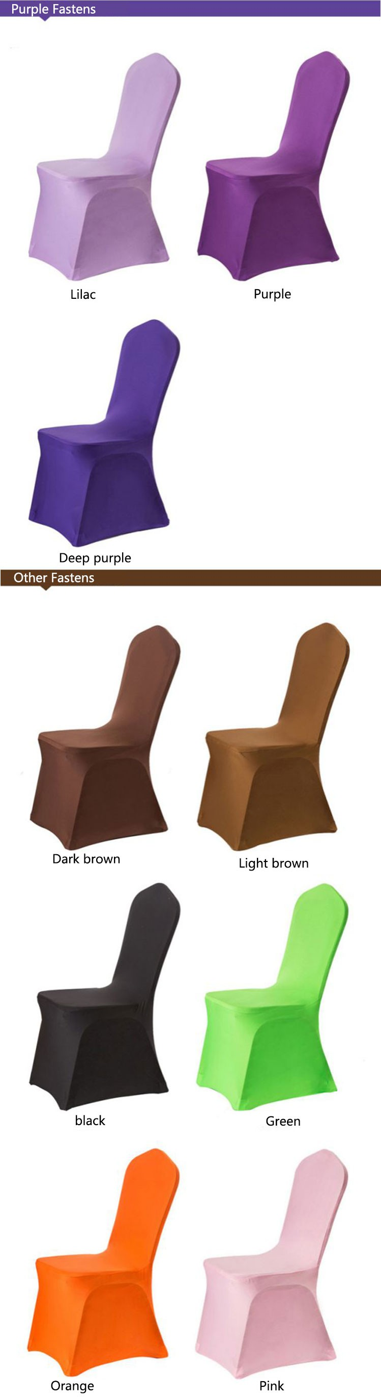 Universal Wholesale Cheap Banquet Chair Covers Stretch 100