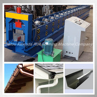 rain gutter roll forming machinery botou kexinda company