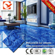 tile prices,blue glazed tile, ocean look blue glazed polished tile