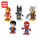 Educational plastic micro size building block mini superhero figure model wholesale toy from china