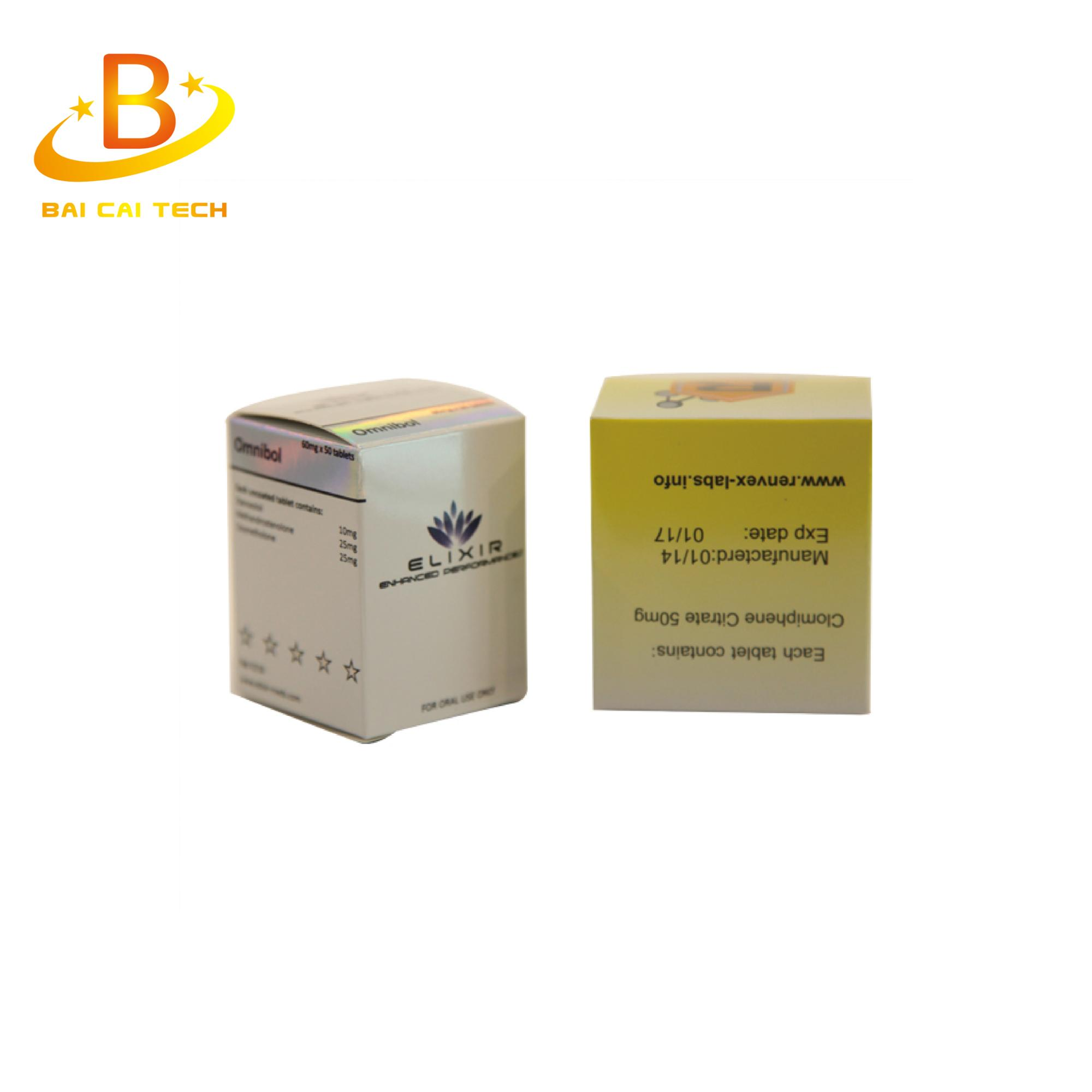 Health care product custom manufacturer paper 10ml vial box