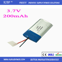 Professional Manufacturer Products 302040 Lithium Polymer Battery for Electronics