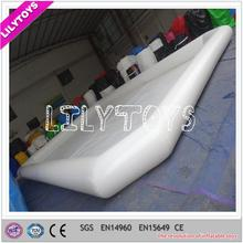 SGS passed lead free white guangzhou pool inflatable toy park used for kids
