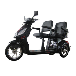 Factory wholesale 3 wheel mobility scooter two seat for elder