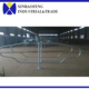 Galvanized cow cattle free stall for dairy farm equipment