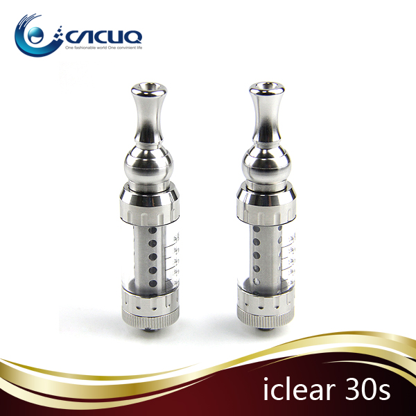 100% original 2014 new e cigs electronic cigarette atomizer innokin iclear 30s dual coil atomizer