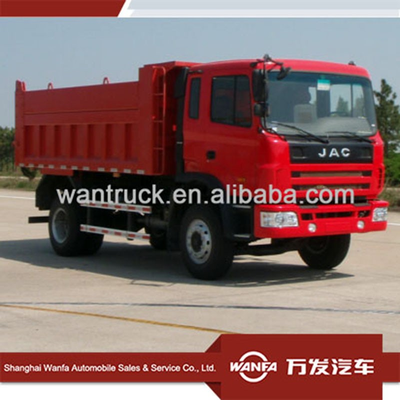 JAC 4X2 190HP dump trucks automatic transmission for sale