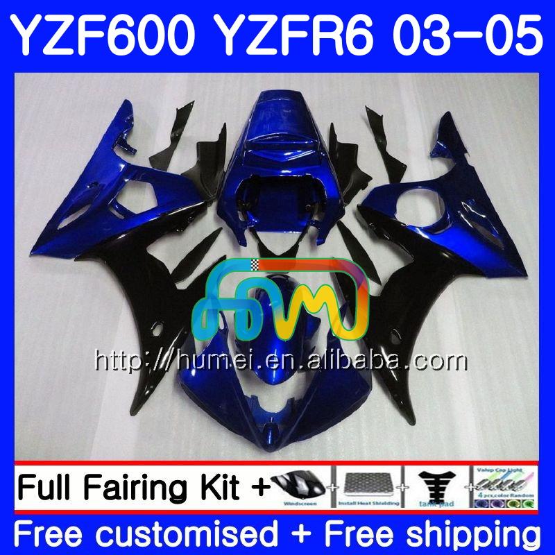 Unpainted Tail Unit Fairing Kit for YAMAHA YZF-R6 98-02