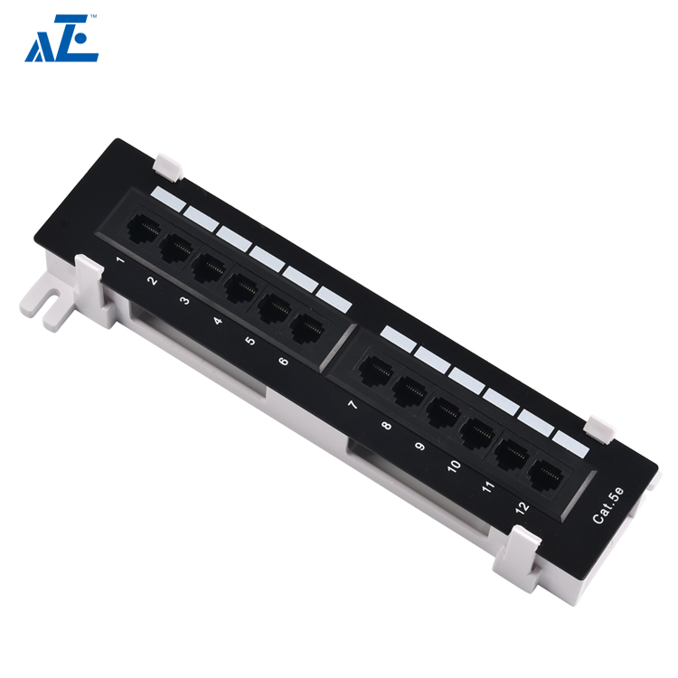 Factory Manufacture Utp 10 Inch 12port Network Surface