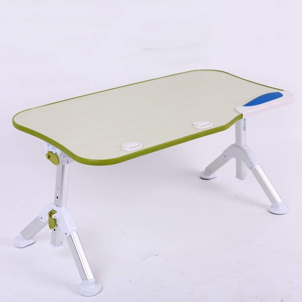 XIAOLIN table Foldable Laptop Desk,Portable Laptop Desk Folding Desk Bed Sofa Laptop Stand Folding Computer Laptop Table Lazy Table Study Writing Desk Removable Laptop Desk (Color : Green)