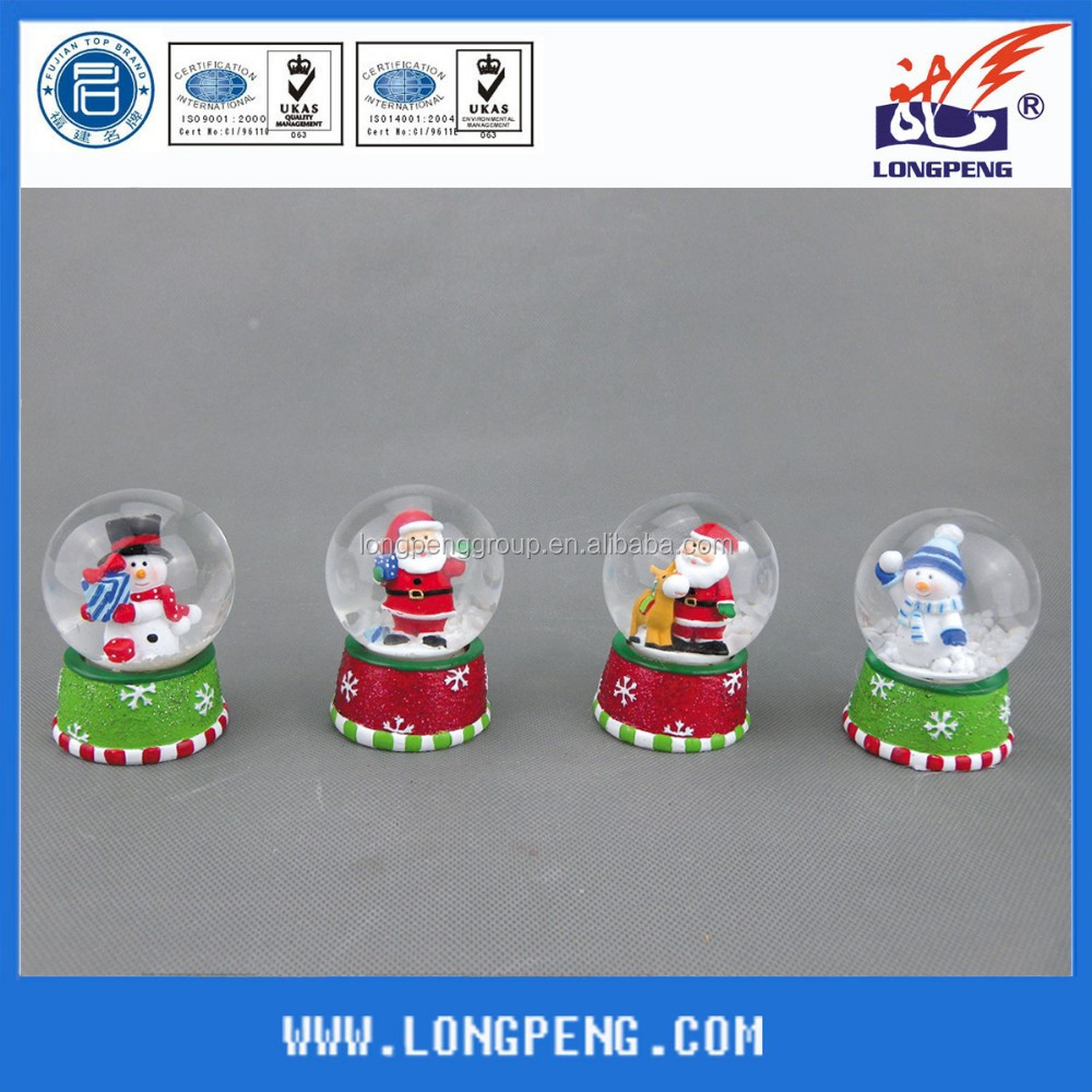 Polyresin kerst sneeuw globe hars ambachten product id 60165763416 - Geloof hars ...