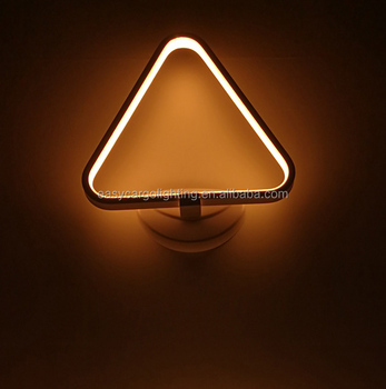 12w Indoor Wall Mount Light Fixtures / Modern Wall Light Led ...
