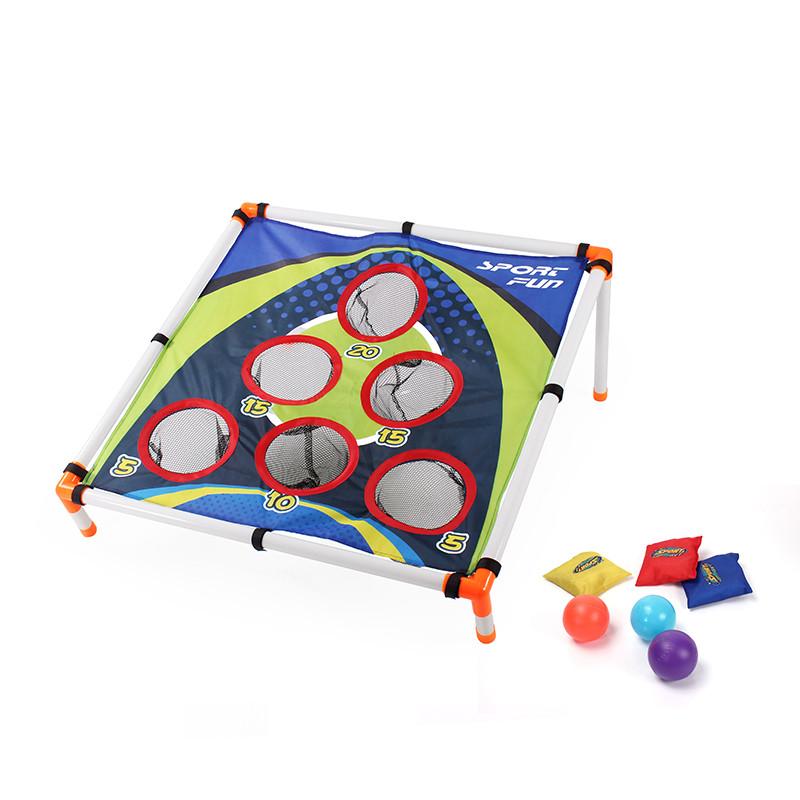 El mejor regalo para niños al aire libre 6 sacos de arena juego con bolsa de arena