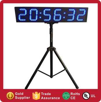 Outdoor Large Digital Game Race Event LED Sports Countdown Timer