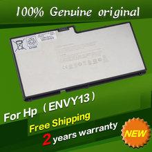 Free shipping Original laptop Battery For Hp Envy 13-1008TX 13-1010ER 13-1015ER 13-1030CA 13-1030NR 13-1050EA 13-1050EF
