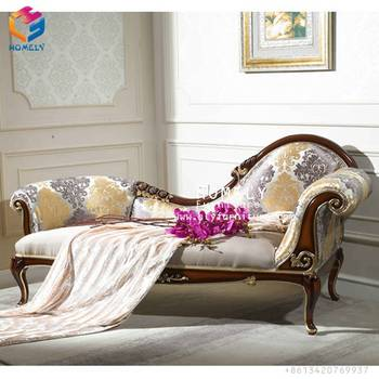 Hot Sell High End Living Room Furniture Wedding Chaise Lounge Sofa