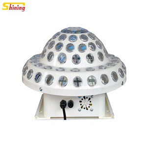Best price LED Laser UFO Crystal Magic Ball Up and Down Disco Light stage light