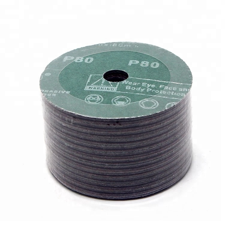 Aluminum oxide fiber disc manufacturer for grinding&polishing of metal and furniture,etc.
