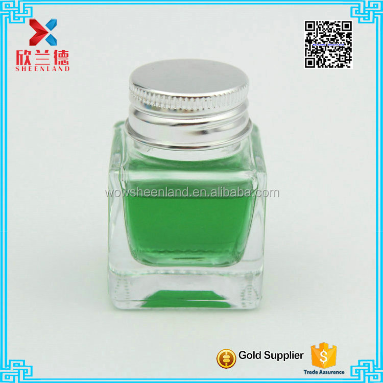 classical 20ml hot sale square empty ink bottle