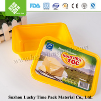 Food Grade Stackable Plastic Container for Butter